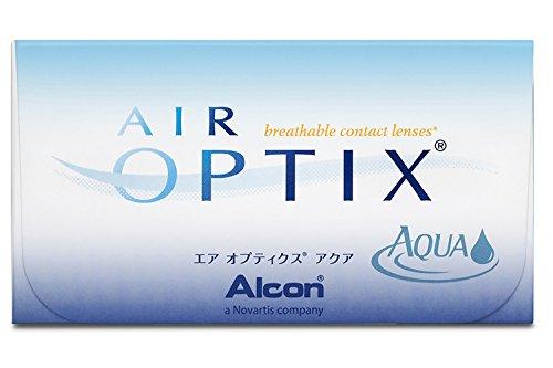 Alcon Ciba Vision Air Optix Aqua Monatslinsen weich, 6 Stück / BC 8.6 mm / DIA 14.2 / -1.75 Dioptrien