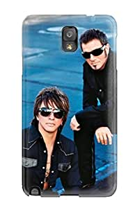 Anti-scratch And Shatterproof Bon Jovi Phone Case For Galaxy Note 3/ High Quality Tpu Case