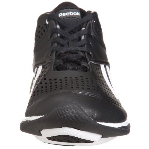 Reebok - Zapatillas para deportes de interior de Piel para mujer Negro negro 37.5