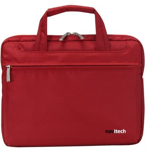(Navitech Royal Red Chic Executive Premium Water Resistant & Shock Absorbent Briefcase / Carry Bag Fitting ALL Laptops / Notebooks Between 13.1 - 15.4 Inches Including: ABS Computer Technologies, Acer, eMachines, Gateway, Packard Bell, Aigo, AIRIS, Aleutia, ALUSA, AMAX Information Technologies, Apple Inc., Ascendant Computers, Asus, AVADirect, AXIOO International, Axiomtek, Beetel India, Belinea, BenQ, Bluechip Computer, Cerise Computers. NEW PRODUCT PRICE - 25% OFF!!)