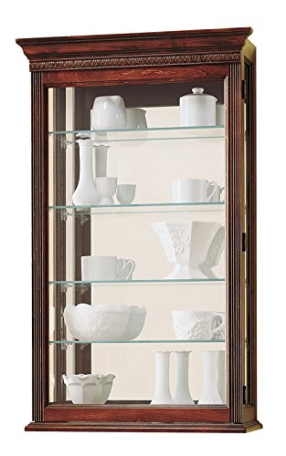 Howard Miller 685-104 Edmonton Curio Cabinet - 685 Glasses
