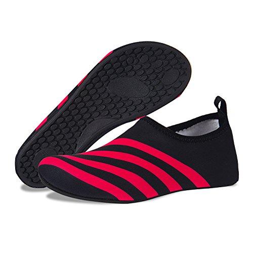 Surf Barefoot Dry Red Shoes Sport Swim Aqua Womens Socks Pool Water Quick Yoga Water Black Beach 4gang Shoes Mens for w8BqtOfn