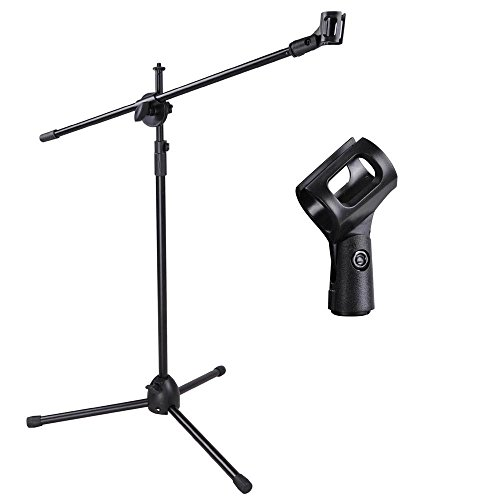 stand-mic-microphone-boom-tripod-holder-clip-black-studio-pack-stage-mount-new-adjustable-360-dual-d