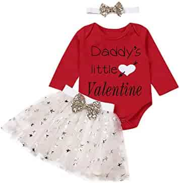 GUMEMO Toddler Baby Girls Easter Dresses Summer Clothes Outfit Flutter Sleeve Top Bunny Skirt Dress Playwear