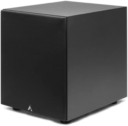 Atlantic Technology SB-800-BK 100-Watt Powered Box subwoofer Black