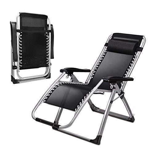 Eeayyygch Liegestühle   Kühle Stuhlliege, faltende Mittagspause Siesta Bett, Sommerliegestuhl, fauler multifunktionaler süßer Stuhl, 2 Pack (Farbe   2 Pack)