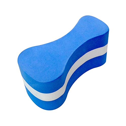 Potelin Foam Pull Buoy Float Kickboard Training Leg Plate Swimming Protector for Kids and Adults Pool Swimming Safety Training Use 1 Pcs
