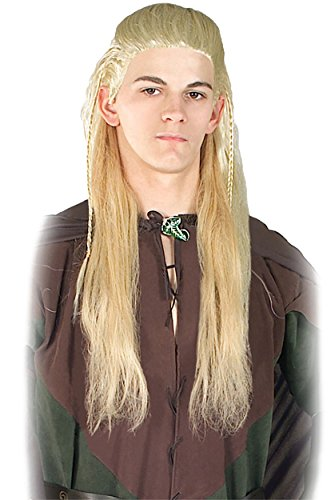 UHC Men's Lord of the Rings Legolas Wig Movie Theme Halloween Accessory - Legolas Adult Costumes