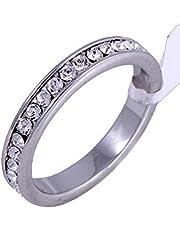 خاتم نسائي من سواروفسكي الليمنتس مقاسUS 7 ,[SWR-022]