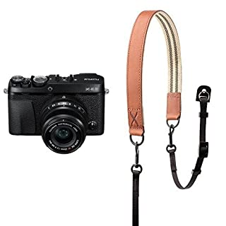 Fujifilm X-E3 Mirrorless Digital Camera w/XF23mmF2 R WR Kit - Black w/ Fujifilm Premium Leather Camera Strap - Brown (B07BFSS5P6) | Amazon price tracker / tracking, Amazon price history charts, Amazon price watches, Amazon price drop alerts