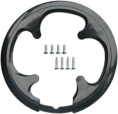 jiankun 42 dientes MTB – Cadena para bicicleta de montaña, 42 dientes piñones – Bielas Protectora 42 Gear integrada de bicicleta, guía de cadena Negro negro