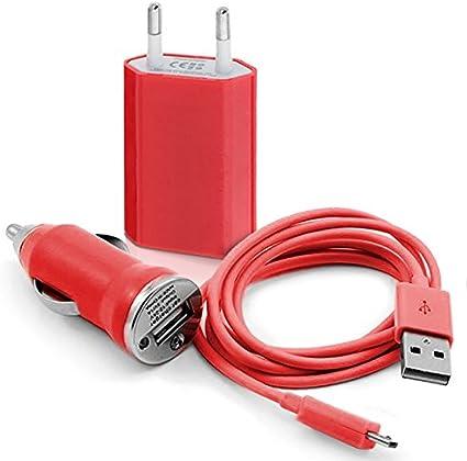 Seluxion Chargeur auto secteur usb motif HF12 pour Wiko