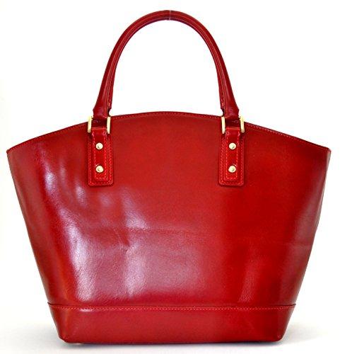 MY BAG cuir FONCE main femme Kelly Modèle OH R Sac à ROUGE Végétal RU5dqxw1