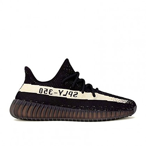 Yeezy Boost 350 V2 Fashion Lightweight Sneakers Unisex Athletic Shoes for Couple Men Women, Black and White (EUR38)