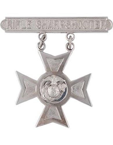 USMC Rifle Qualification Badge - Shiny - Sharp Shop Shiny And