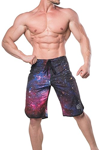 Jed North Men's physique Posing Trunks Board Shorts Quick-Dry Summer Beach Swim - Swimsuit Competition Sizing