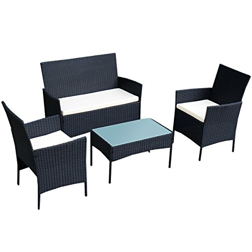 tangkula-4-pcs-wicker-furniture-set-rattan-sofas-garden-lawn-patio-furniture