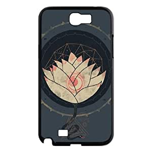 DIY Protective Hard Plastic Case for Samsung Galaxy Note 2 N7100 - Lotus customized case at CHXTT-C