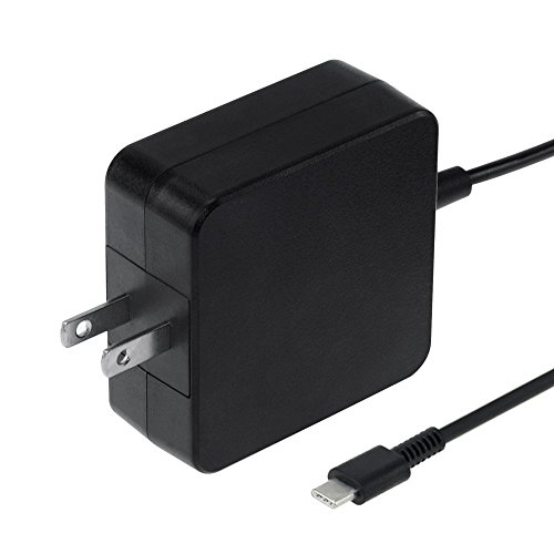 (45W USB C Charger for Asus Chromebook Flip C302 C302C C302CA C302CA-DHM4 12.5-inch Touchscreen Chromebook Laptop;Portable AC Wall Charger Power Supply Adapter Cord)