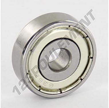 6x22x7 mm Generique Roulement a Billes 636-ZZ