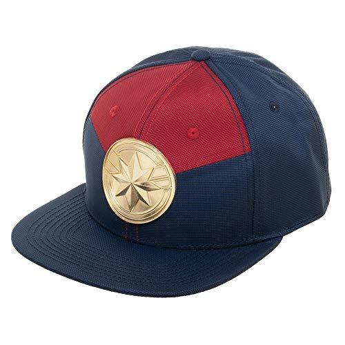 Marvel Captain Marvel Suit Up Snapback Cap Adjustable Hat