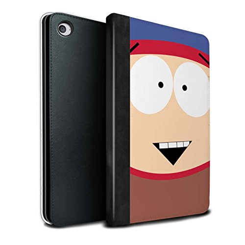 Price comparison product image STUFF4 PU Leather Book/Cover Case for Apple iPad Mini 4 tablets / Stan Design / Funny South Park Inspired Collection