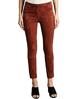 Classic Skinny Trousers 59397 Brick Red