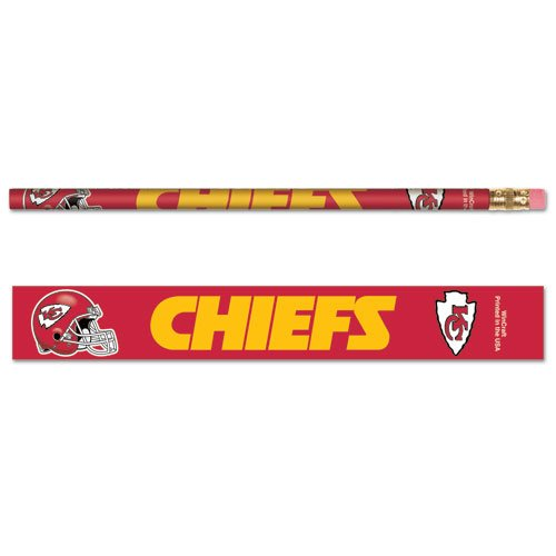 Wincraft NFL Kansas City Chiefs Pencil (6 Pack) ()