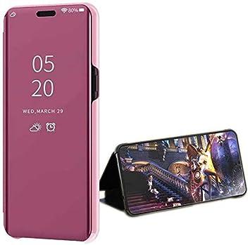 LsYun Funda Compatible para Samsung Galaxy S8 Plus Caja Espejo ...