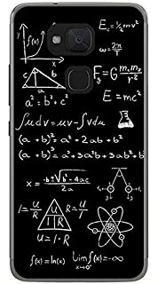 Tumundosmartphone Funda Gel TPU para BQ AQUARIS V/VS diseño Formulas Dibujos: Amazon.es: Electrónica