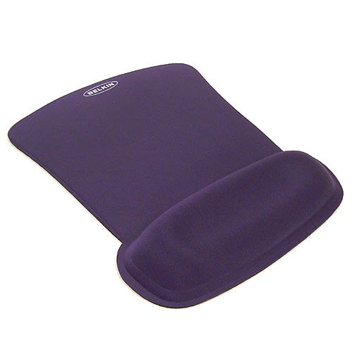 (Belkin F8E262BLU WaveRest Series Gel Mouse Pad Blue)