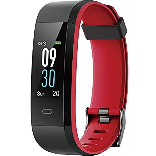 Tepoinn Fitness Tracker with Heart Rate Monitor, Activity Tracker Fitness Watch Smart Watch Waterproof IP68 Color Screen Step Counter Calorie Tracker Call SMS Push Pedometer Watch for Women Men Kids