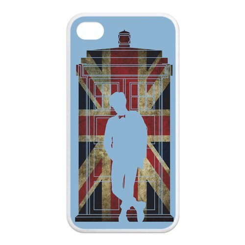 Fayruz- Doctor Who Protective Hard TPU Rubber Cover Case for iPhone 4 / 4S Phone Cases A-i4K186