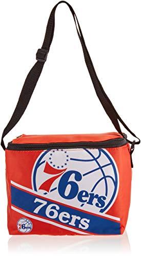 FOCO Philadelphia 76Ers Big Logo Stripe 6 Pack Cooler by FOCO