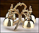 Messengers of God 4-bell Altar Bells, -- Brass -- 9 X 9 X 5 1⁄2'' H