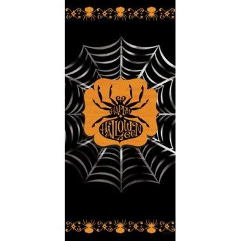 Scary Silhouettes Halloween Door Cover