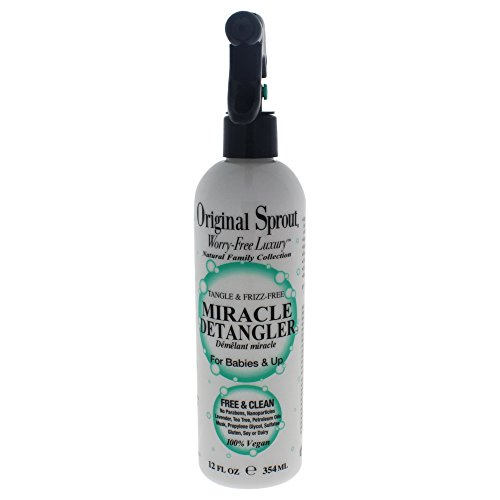 cle Detangler. All Natural Hair Care. Hair Moisturizer and Leave-In Conditioner Spray, 12 Fl Oz ()