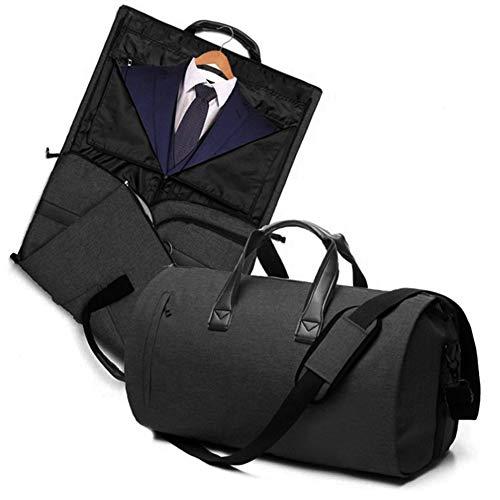 c686997dd V-Vitoria Carry On Garment Bag Travel & Business Suit Bag with Shoulder  Strap Duffel