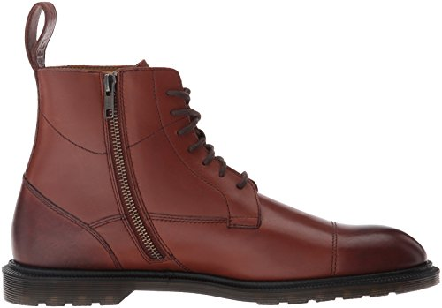 Dr. Martens Winchester Black Polished Smooth, Stivali Uomo Oak