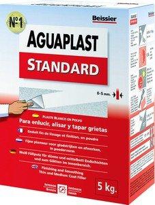 Aguaplast 5448B7 Standard Spachtelmasse zur Reparatur von Rissen, Pulver, 5kg