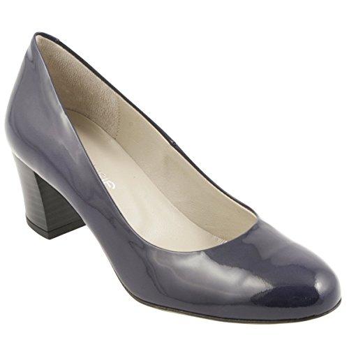 Paris Elena Bleu Exclusif Chaussures à Marine Talons TxdqnABv0w