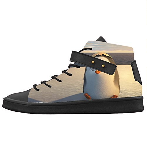 Custom Penguin Womens Canvas Chaussures Chaussures Chaussures Chaussures.
