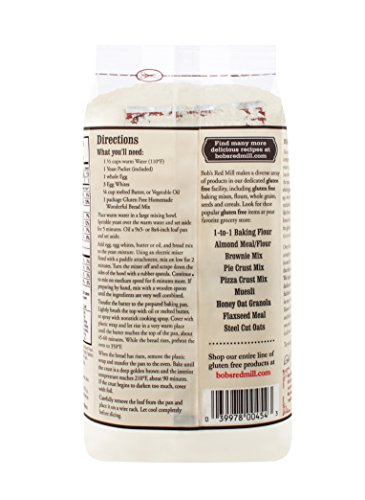 Bob's Red Mill Gluten Free Homemade Wonderful Bread Mix, 16-ounce (Pack of 4) by Bob's Red Mill (Image #1)