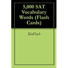 5,000 SAT Vocabulary Words (Flash Cards)