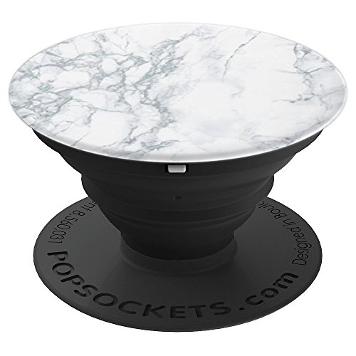 Simply Marble PopSocket - Mobile Phone Accessory - PopSockets Grip and Stand for Phones and Tablets by Unique PopSockets