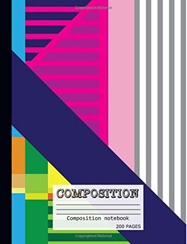 200 Page Composition Notebook - 5