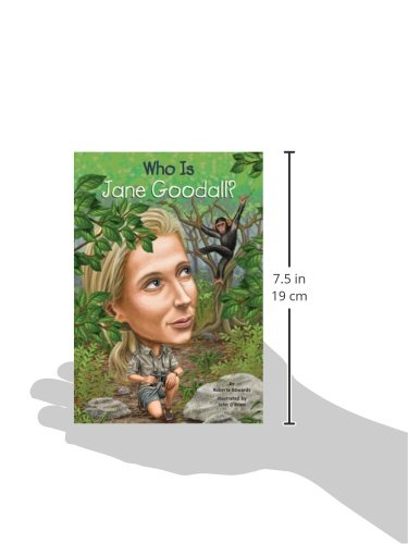 Who Is Jane Goodall? (Turtleback School & Library Binding Edition) (Who Was.?)