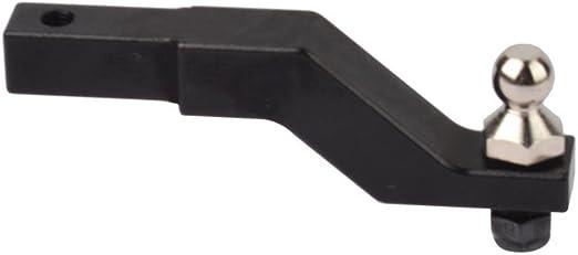 Receptor de enganche de remolque de aluminio TRX4-023 para 1/10 RC Traxxas TRX-4 TRX4 Trail Crawler Truck