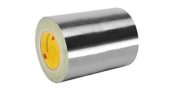 Aluminium Foil tape 50m long rolls and in three available widths
