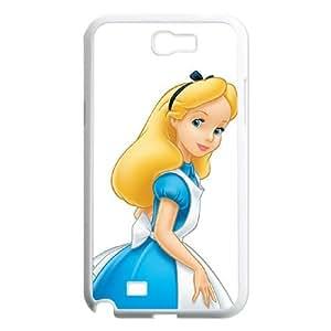 Alice in Wonderland Samsung Galaxy N2 7100 Cell Phone Case White DIY Gift zhm004_0433618